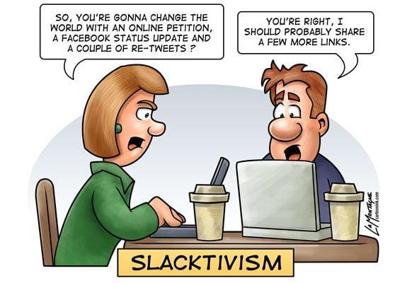 Slacktivizmus
