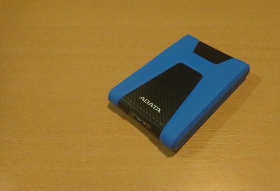 externý disk ADATA modro čierny
