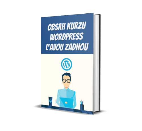 obsah kurzu WordPress ľavou-zadnou