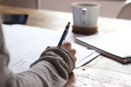 Písanie poznámok