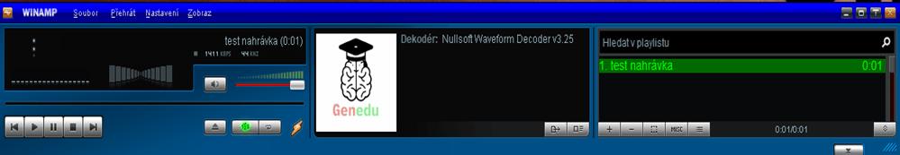 winamp 5.8 rozhranie programu